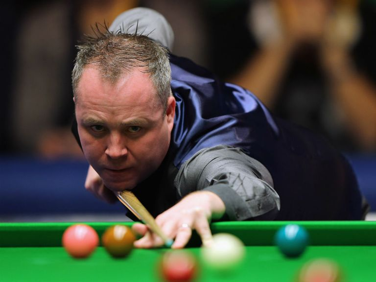 John Higgins: Out on the opening day