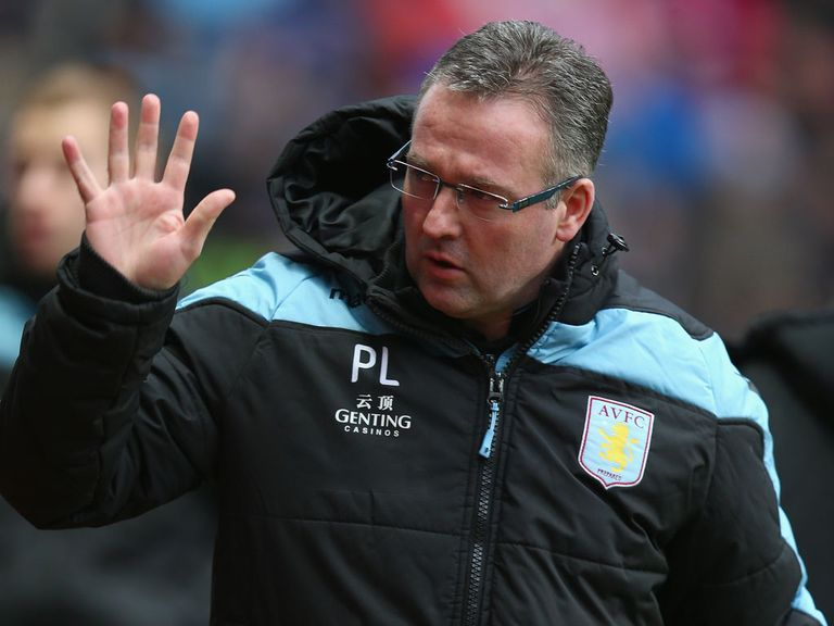 Paul Lambert: Still has Lerner's backing