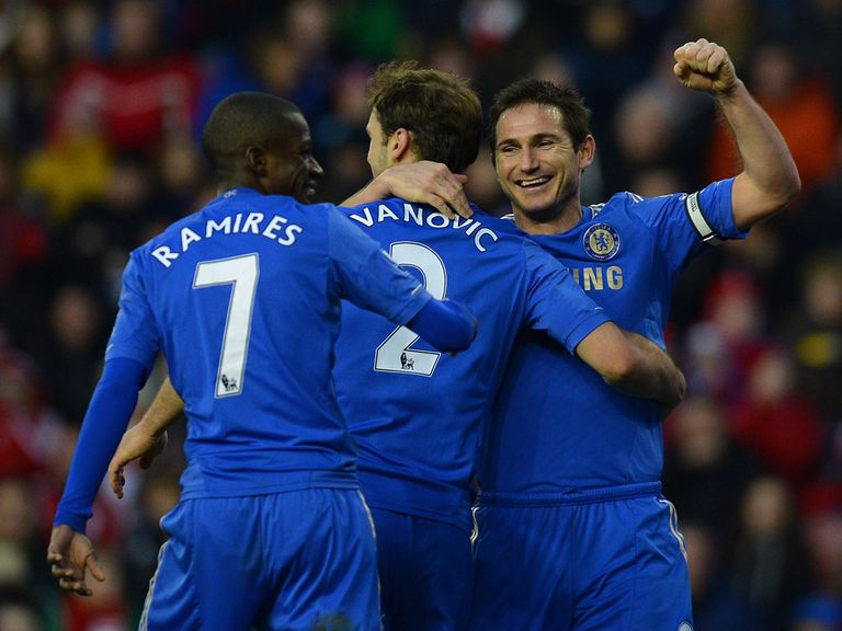 Lampard: May still have a Chelsea future