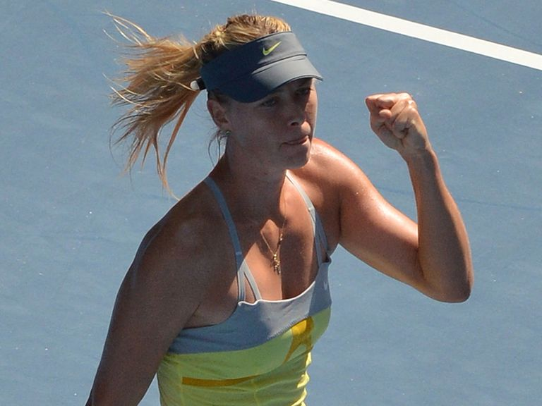 Maria Sharapova: Dropped just one game