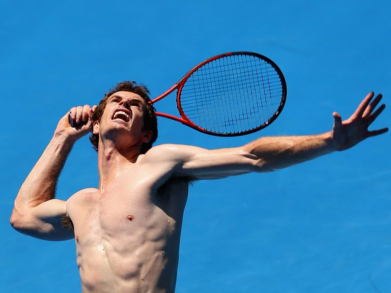 Andy Murray: Feeling relaxed