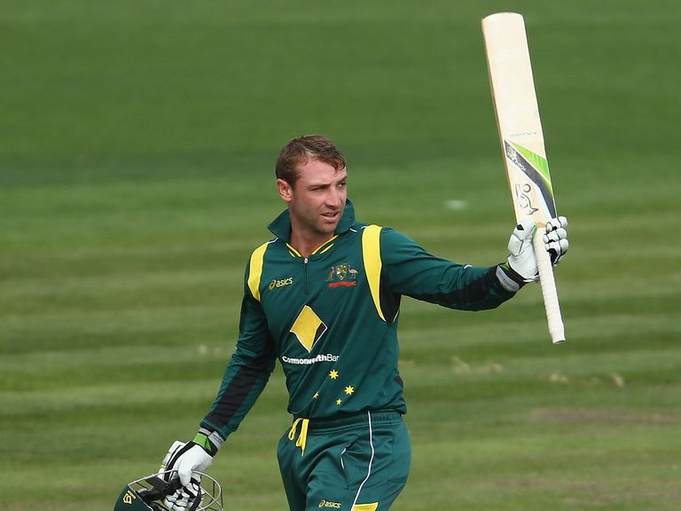 Phil Hughes: Wants a regular Australia place