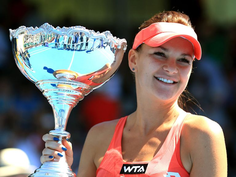 Radwanska: Wants to be the world's best player