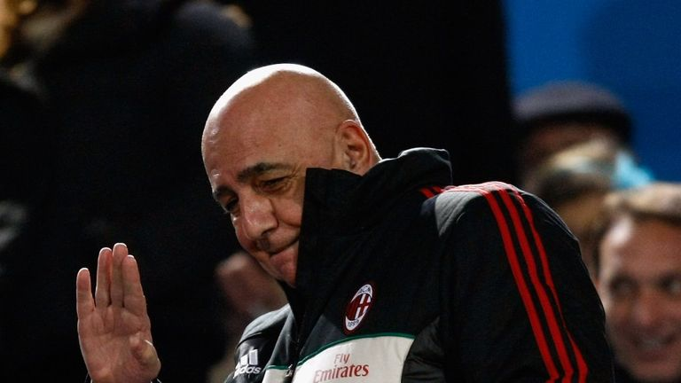 Adriano Galliani: Says he has a strong relationship with Silvio Berlusconi