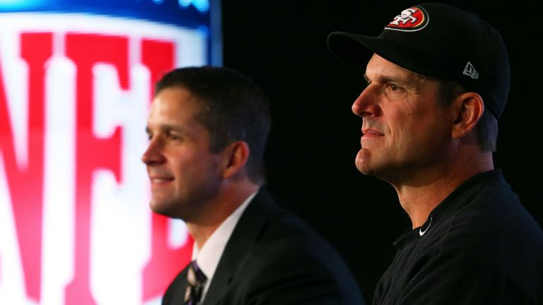 The Harbaugh brothers