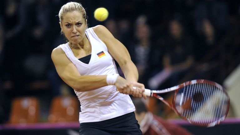 Sabine Lisicki: rallied from 5-3 down in opening set to beat Madison Keys