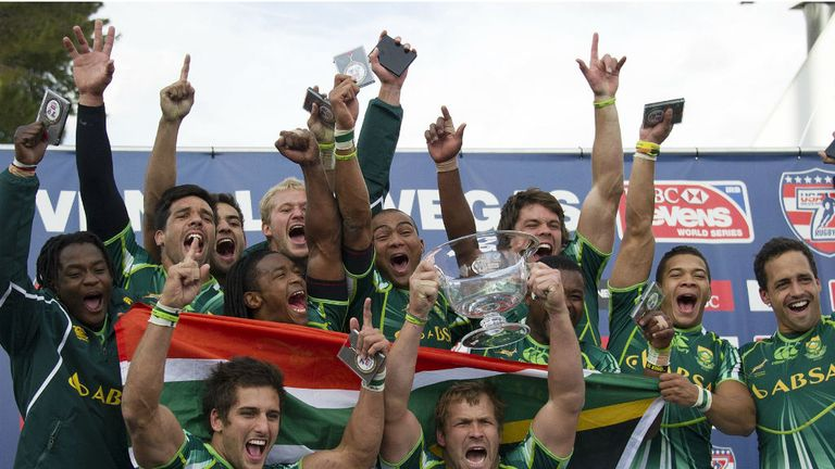 South Africa claim the USA Sevens title