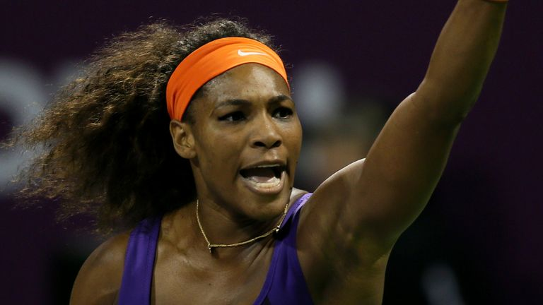 Serena Williams: New world number one