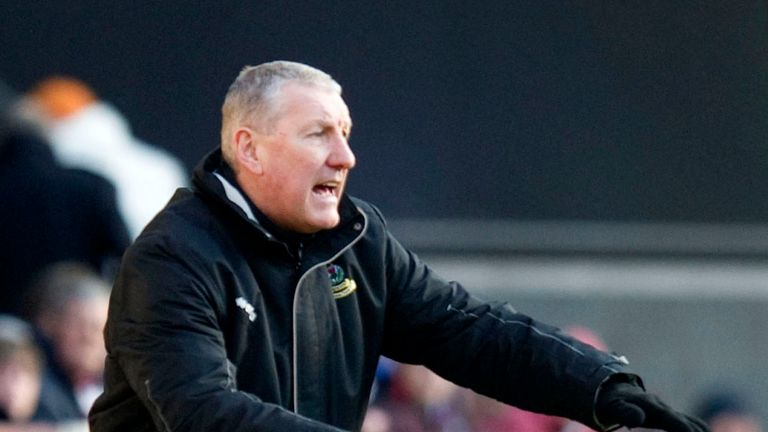 Terry Butcher: Pleased with goalless draw with Dundee United despite dropping to third in the SPL