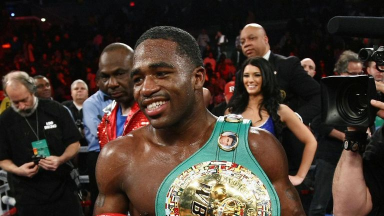 Adrien Broner: Does not see the jump in weight as a problem