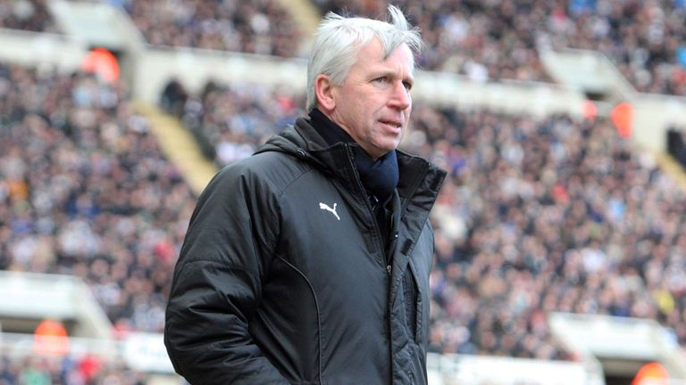 Alan Pardew: Happy with the squad he has assembled