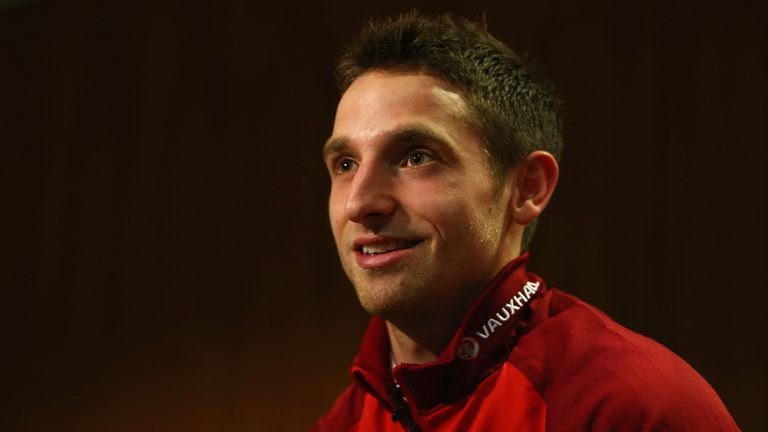 Joe Allen: Included in Wales squad for World Cup qualifiers