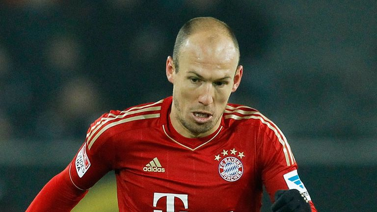 Arjen Robben: Unhappy with his 10-minute cameo