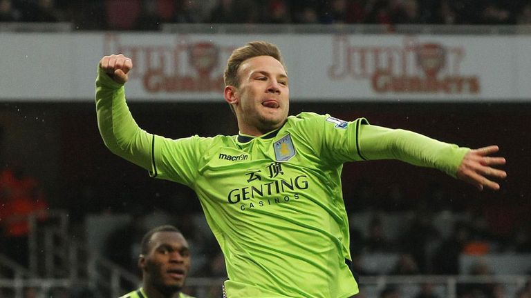 Andreas Weimann: Happy at Villa