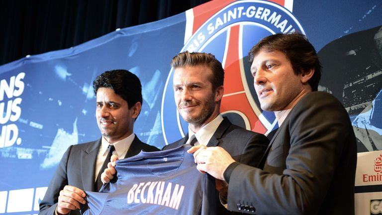 David Beckham: Joining PSG for five months