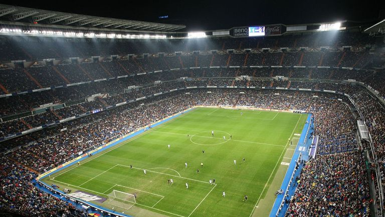 Santiago Bernabeau Stadium: Home of Real Madrid