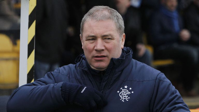 Ally McCoist: Rangers boss feels it it is time for a song book