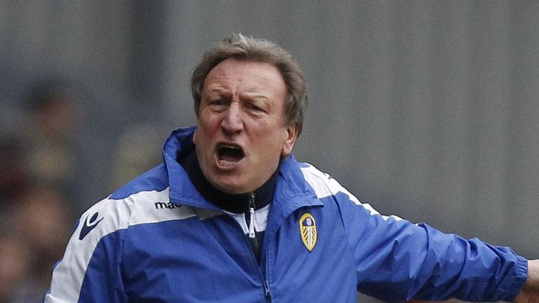 Neil Warnock: The Leeds boss happier with his players than the officials