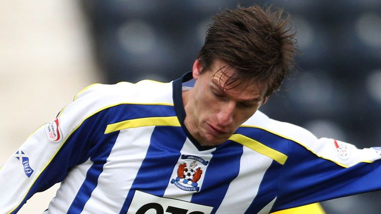Borja Perez: On the scoresheet for Kilmarnock