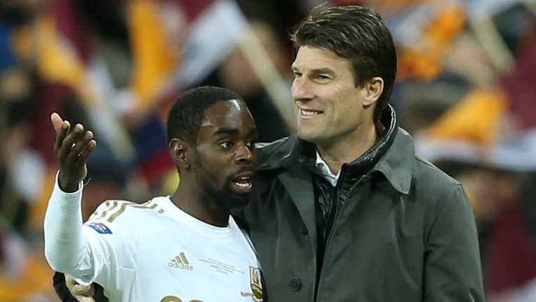 Nathan Dyer: Believes Swansea will continue to do well with or without manager Laudrup