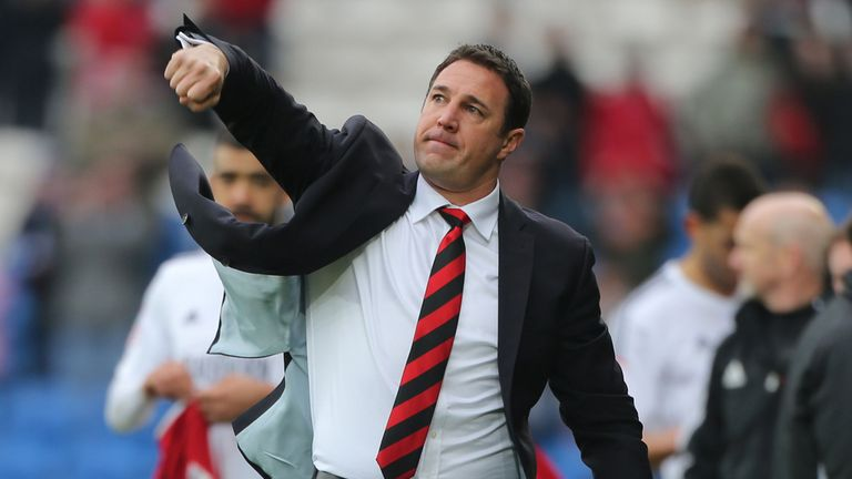 Malky Mackay: Delighted with Campbell