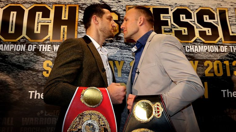 Froch and Kessler - bloodthirsty warriors