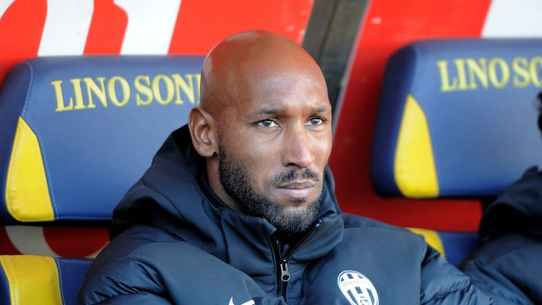 Nicolas Anelka: Capable of playing on, according to his agent
