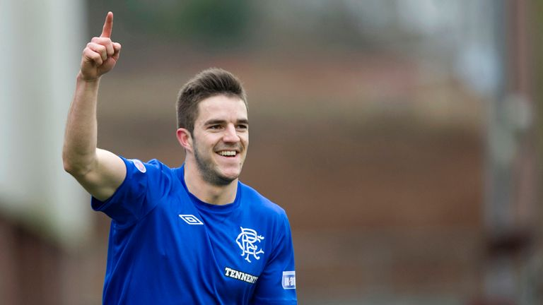 Andy Little: Two goals for Rangers in win at Clyde