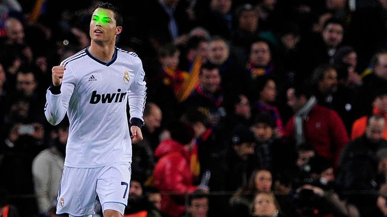 Cristiano Ronaldo: Scored twice at Barca on Wednesday