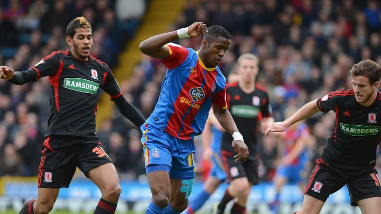 Wilfried Zaha: Couldn't make the difference as Palace and Barnsley drew