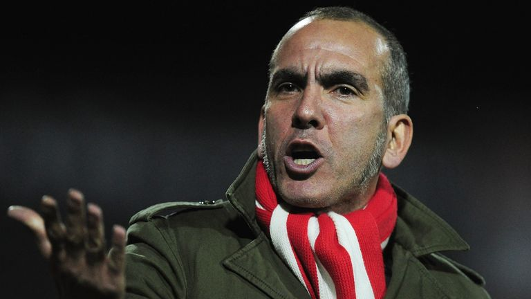 Paolo Di Canio: Played down speculation linking him with the Reading job.