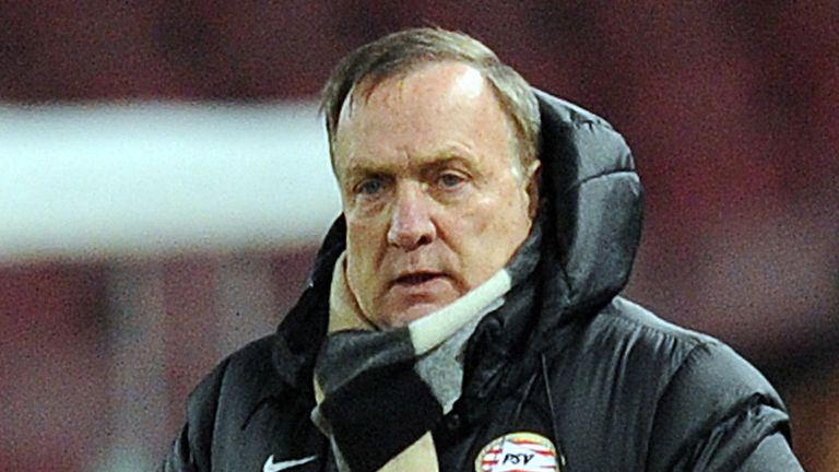 Dick Advocaat: Fomer Holland boss has taken over at AZ Alkmaar
