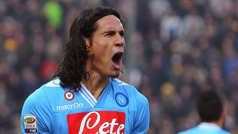 Edinson Cavani: Uruguayan striker's prolific form has attracted admirers from across Europe