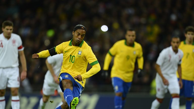 Ronaldinho: Says he is still hopeful of making Brazil's World Cup squad
