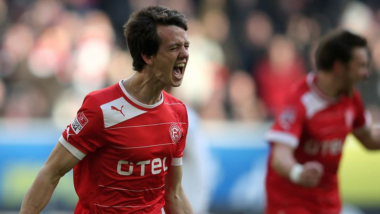 Robbie Kruse: The striker admits he may need to be patient for chances at Bayer Leverkusen