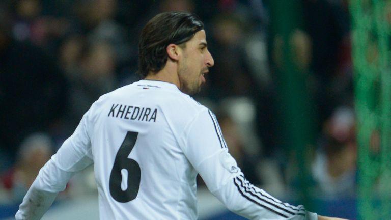 Sami Khedira scored the winning goal for Germany