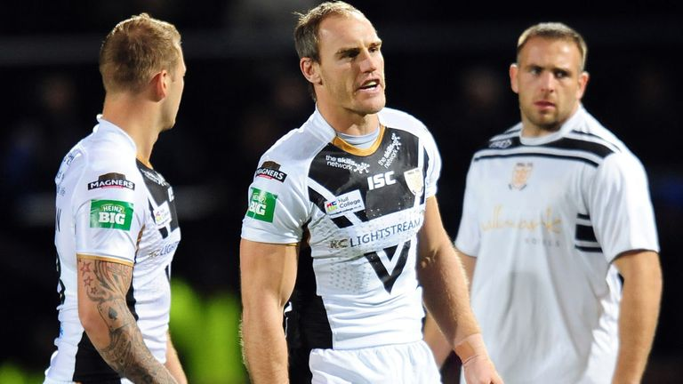 Gareth Ellis: Hull captain back in Challenge Cup action