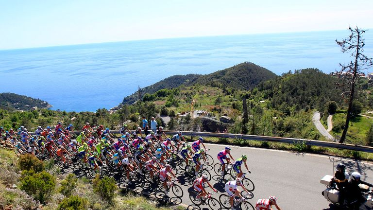 The 2014 Giro D'Italia will start in Ireland before heading back to Italy