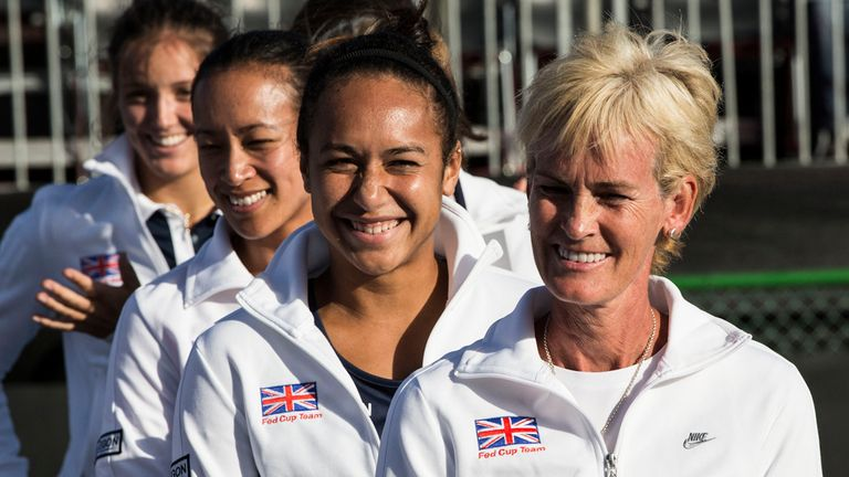 Judy Murray: The Fed Cup captain says Heather Watson and Laura Robson are inspirational