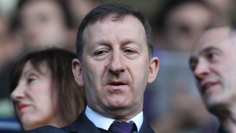 Huw Jenkins: The Swansea chairman is preparing for departure of Michael Laudrup