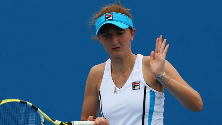 Irina-Camelia Begu: Romanian went down in straight sets