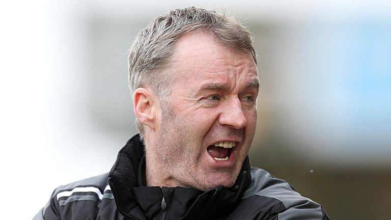 John Sheridan: Pleased with his team