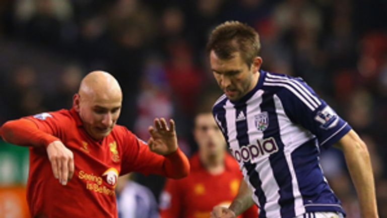 Gareth McAuley: Key performer for West Brom this season