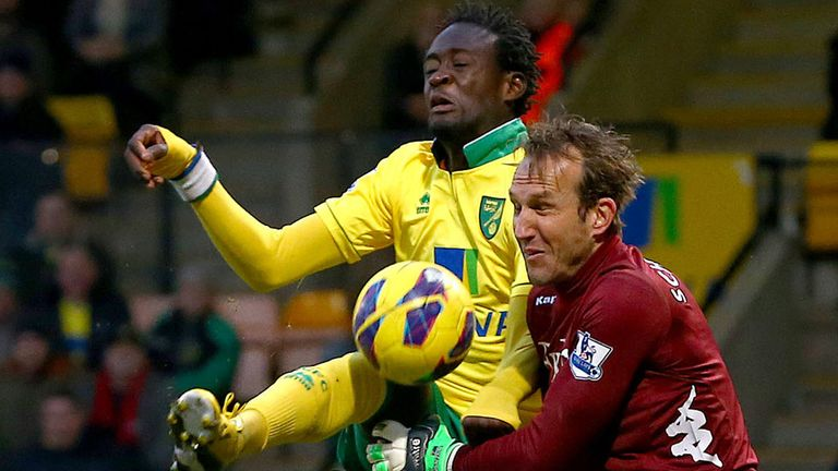 Kei Kamara: New Norwich signing hoping to settle in quickly