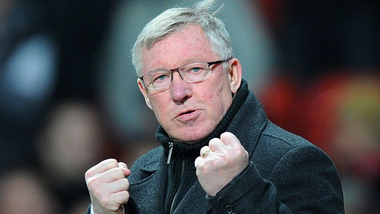 Sir Alex Ferguson: Has hit back at Mancini claim
