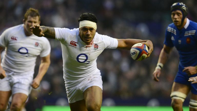 Manu Tuilagi: Scored the key try just after Trinh-Duc's exit