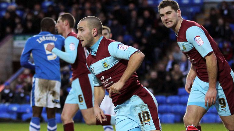Martin Paterson: Rescued a point for Burnley against struggling Peterborough