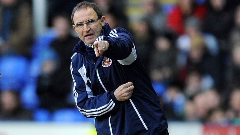 Martin O'Neill: Disappointed with defeat
