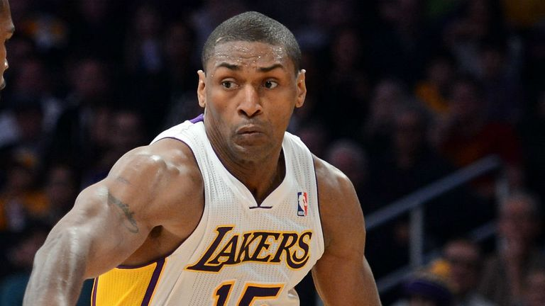Metta World Peace: Involved in another controversy at The Palace of Auburn Hills