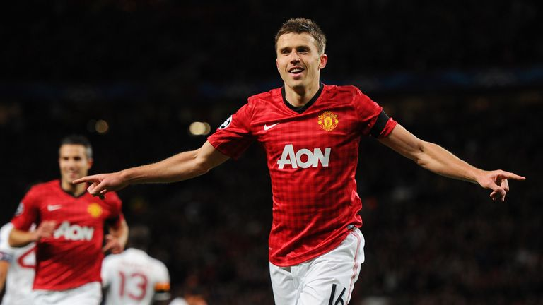 Michael Carrick: Among the contenders for the PFA Player of the Year award